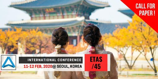 45th International Conference on Engineering, Technology and Applied Science (ETAS-45)