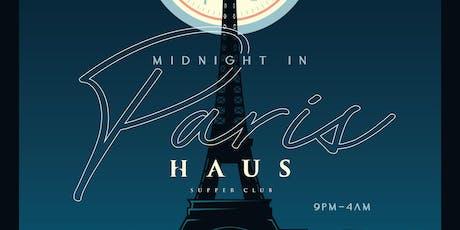 New Year's Eve 2020 - Midnight In Paris tickets