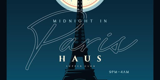 New Year's Eve 2020 - Midnight In Paris