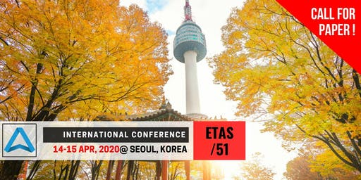 51th International Conference on Engineering, Technology and Applied Science (ETAS-51)