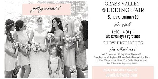 Grass Valley Wedding Fair {a Wedding Affair for all Seasons}