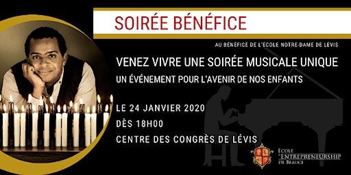 Soirée bénéfice au bénéfice de l'École Notre-Dame De Lévis