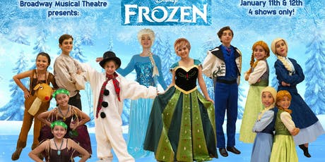 """""""Frozen Jr."""" Cast 1 - Sunday 12th at 1:00 pm tickets"""