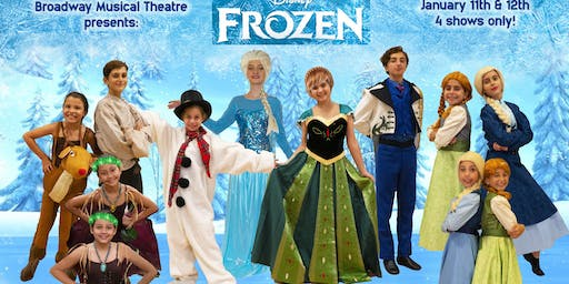 """Frozen Jr."" Cast 1 - Sunday 12th at 11:00 am"