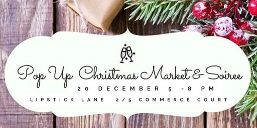 Pop up Christmas Market and Soiree