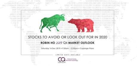 Robin Ho 2019 Q4 Market Outlook tickets