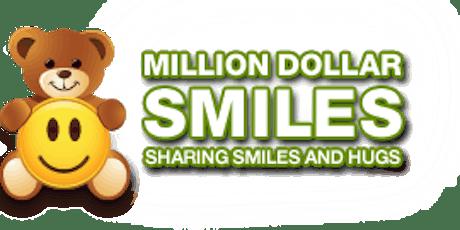 Monat Gratitude supporting Million Dollar Smiles tickets
