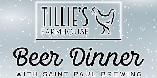 Tillie's Farmhouse Beer Dinner