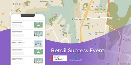 DigitalMaas and Google Partner Connect Retail Success Event tickets