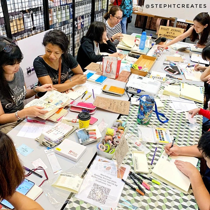 Workshop - Setting up your Bullet Journal for 2020! by Stephtcreates image
