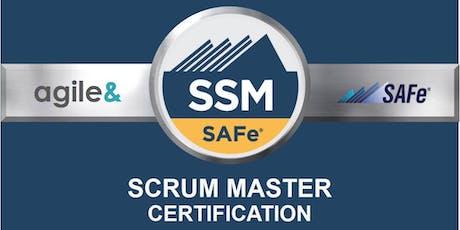 SAFe Scrum Master (4.6) Certification Training tickets