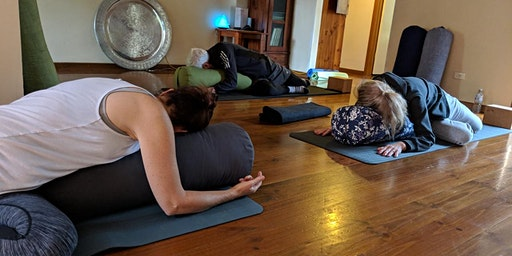 Summer Restorative Yoga Series (Fortnightly - 75 mins Sessions)