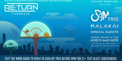 Re:Turn Tuesday ft 5AM ****, MALAKAI  & Special Guests - The Rust Showcase