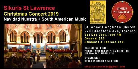 "Sikuris St. Lawrence ""Navidad Nuestra""  Andean Christmas Concert 2019 tickets"