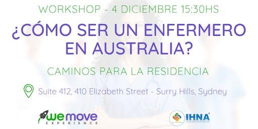 Workshop - ¿Cómo ser un enfermero en Australia?