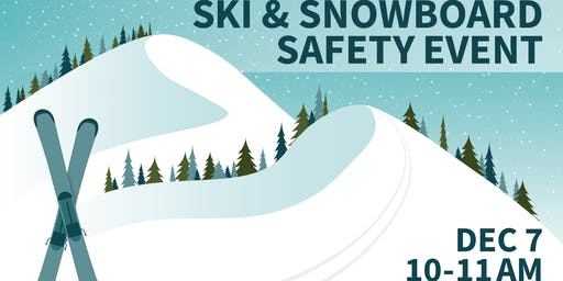 Ski and Snowboard Safety Event