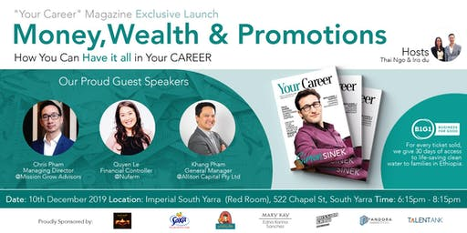 Money, Wealth and Promotion- How You Can Have it all in Your CAREER