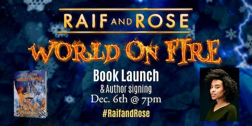 Raif and Rose: World on Fire Book Launch and Signing