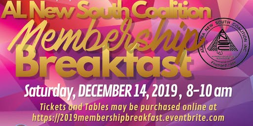 AL New South, Madison County Chapter 2019 Annual Membership Breakfast