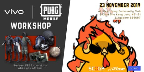 PUBG Mobile Workshop with VIVO tickets