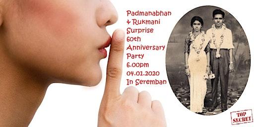 VRP 60th Wedding Anniversary