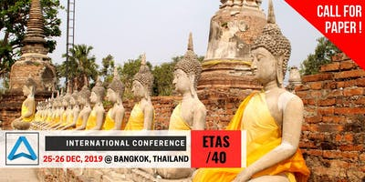40th International Conference on Engineering, Technology and Applied Science (ETAS-40)