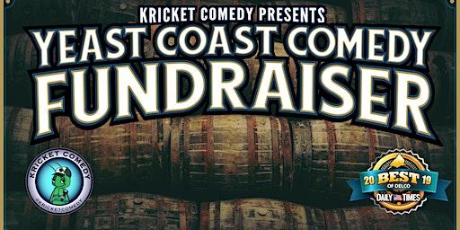 Kricket Comedy Presents: Yeast Coast Comedy Fundraiser