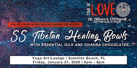 55 Healing Bowls, Essential Oils & Chakra Chocolates, Satellite Beach, FL tickets