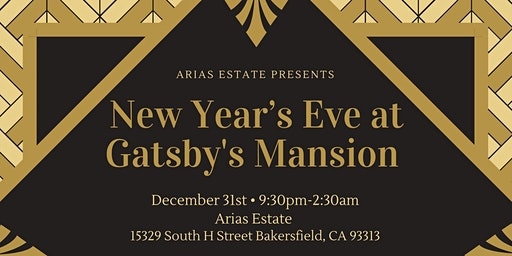 New Years Eve At Gatsby's Mansion
