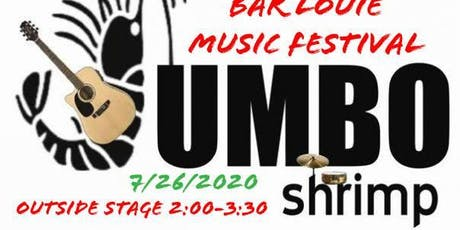 JUMBOshrimp at 2nd Annual Bar Louie Music Festival Outside Stage tickets