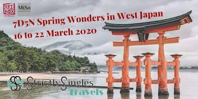 7D5N Spring Wonders in West Japan