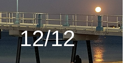 12/12 Full Moon Beach Meditation