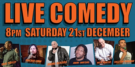 Live Comedy At The Leopold tickets