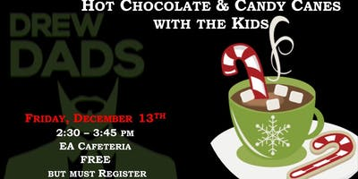 Hot Chocolate & Candy Canes with the Kids