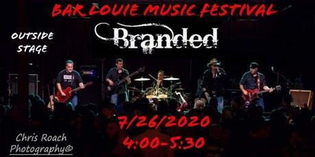 """Branded at 2nd Annual Bar Louie Music Festival """"Outside Stage"""" tickets"""