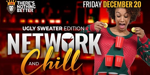 NETWORK AND CHILL - UGLY SWEATER