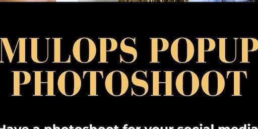 Mulops Popup Photoshoot