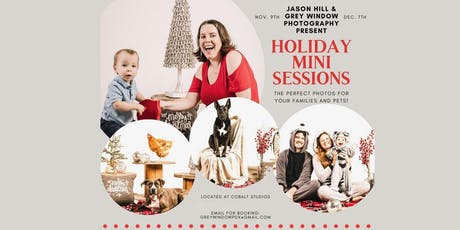 Holiday Mini  Sessions Dec. 7th tickets