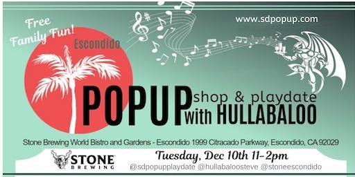 Holiday PopUp Shop & PlayDate with Hullabaloo!