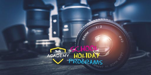 Camera Basics I School Holiday Programs (12-18yrs) I Melbourne