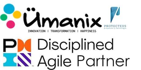 PMI – Disciplined Agile, fundamentos. tickets
