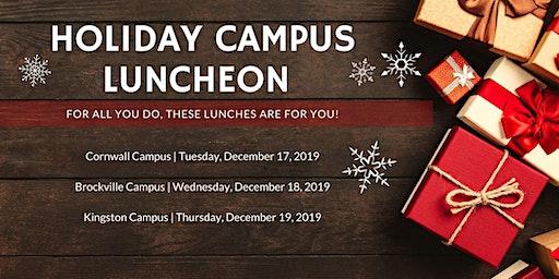 SLC Faculty and Staff December Holiday Celebration - BROCKVILLE