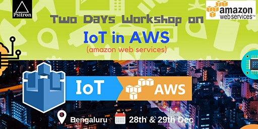 Internet of things (IoT) in Amazon Web Services Workshop