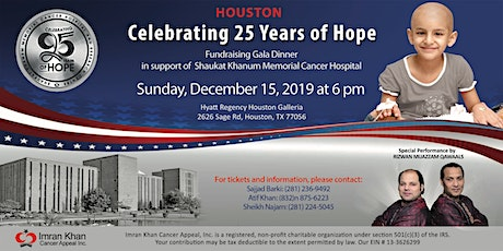 Fundraising Gala Dinner in Houston tickets