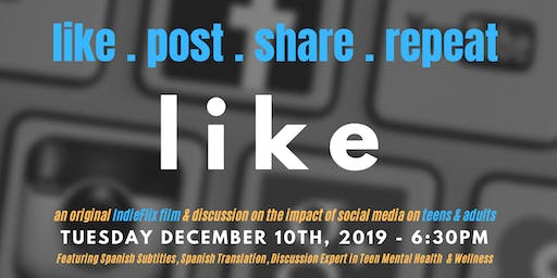 like.post.share.repeat.LIKE - a documentary on the impact of social media