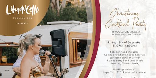 Limoncello Caravan Bar Presents  a 'Christmas Cocktail Party'