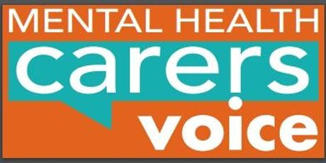 Carers ACT - ACT Mental Health and Suicide Prevention Plan: Implementation tickets