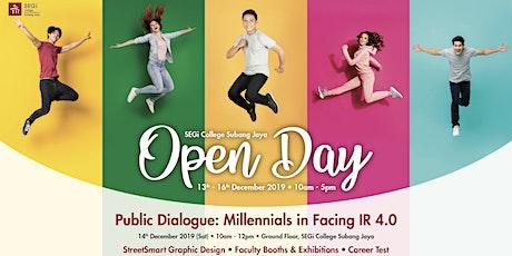 Public Dialogue: Millennials in Facing IR 4.0 tickets