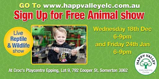 Free Animal Show