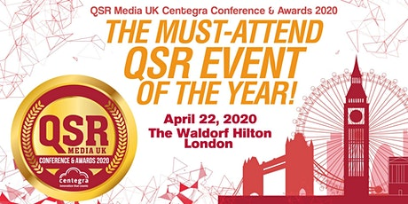 QSR Media UK Centegra Conference & Awards 2020 tickets